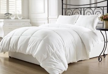 chezmoi-collection-white-goose-down-alternative-comforter-full-queen-with-corner-tab