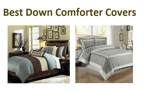 Top 10 Best Down Comforter Covers in 2018 - Complete Guide