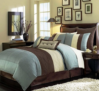 chezmoi-collection-8-piece-luxury-stripe-duvet-cover-set-queen-beige-green-and-brown
