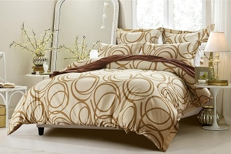 circle-design-beige-bedding-set-includes-6-piece-comforter-and-duvet-cover-cherry-hill-collection
