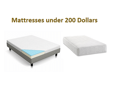Best Mattresses Under 200 Dollars