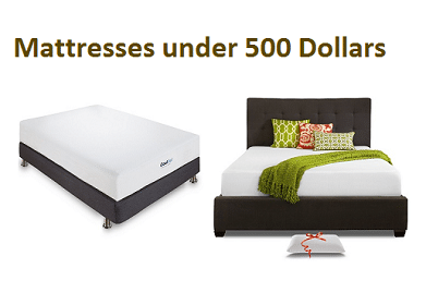 Top 10 Best Mattresses under 500 in 2018 - Complete Guide