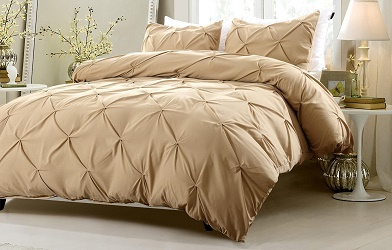 three-piece-pinch-pleat-design-white-bedding-set-includes-comforter-and-duvet-cover-cherry-hill-collection