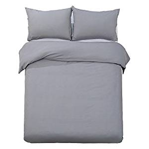 word-of-dream-brushed-microfiber-solid-duvet-cover-sets-3-piece-king-gray