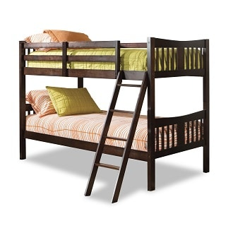 The Caribou Solid Hardwood Twin Bunk Bed By Storkcraft Looks Auspiciously  Simple, Is Made Of High Quality Material, Has Outstanding Safety Standards,  ... Part 70