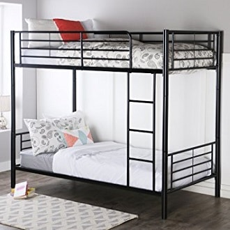 This Modern Looking Steel Bunk Is A Great Pick For Kids Transitioning To A  More Grown Up Bedroom Taste.