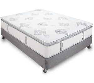 Classic Brands Mercer Pillow-Top Cool Gel Foam and Innerspring Hybrid 12-Inch Mattress, Full