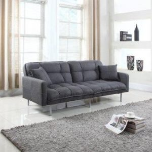 divano roma furniture collection   modern plush tufted linen fabric splitback living room sleeper futon   top 10 most durable futon sofa beds in 2018   ultimate guide  rh   super fysleep