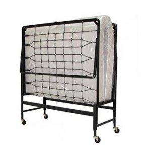 Serta 39″ Portable Rollaway Bed with Twin Mattress