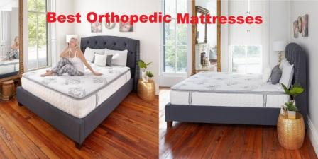 Top 10 Best Orthopedic Mattresses in 2018 - Super Comfy Sleep