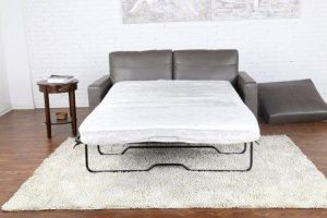 Bonded Leather Sleeper/Pull Out Sofa and Bed