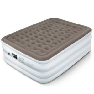 Etekcity Upgraded Air Mattress Blow Up Elevated Raised Bed Inflatable Airbed with Built-in Electric Pump