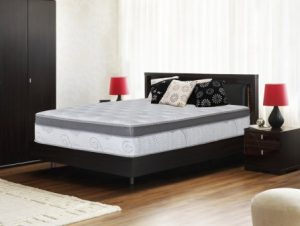 Olee Sleep 13 Inch Box Top Hybrid Gel Infused Memory Foam Innerspring King-Size Mattress