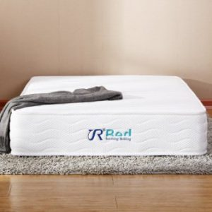 Sunrising Bedding 8 Inch Hybrid Natural Latex Independently Encased Coil Innerspring Queen-Size Mattress