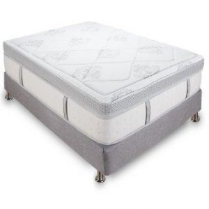 Classic Brands Gramercy Euro-Top Cool Gel Memory Foam and Innerspring Hybrid 14-Inch Mattress, Twin XL