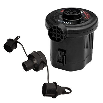 Intex Quick-Fill Battery Air Pump (6 C-cell Battery), Max. Air Flow 13.4CFM