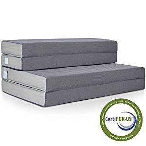 Best Choice Products 4″ Folding Portable Mattress Full
