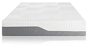 Voila Box Luxury Hybrid Coil-Spring Latex Mattress, Gel-infused Memory Foam