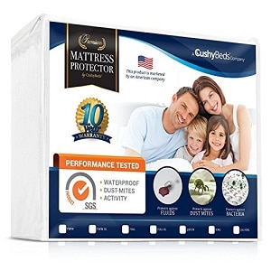 Premium Mattress Protector Cover by CushyBeds