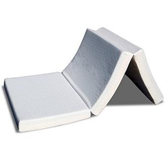 best-price-mattress-tri-fold-memory-foam-mattress-topper