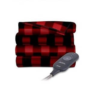 sunbeam-heated-electric-throw-blanket-fleece-extra-soft-red-and-black-plaid