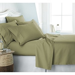 Egyptian Luxury 1800 Hotel Collection Bed Sheet Set U2013 Deep Pockets, Wrinkle  And Fade Resistant, Hypoallergenic Sheet And Pillow Case Set U2013 Queen