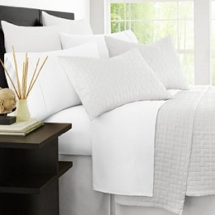 Zen Bamboo Hypoallergenic And Wrinkle Resistant Ultra Soft 4 Piece King Bed Sheets
