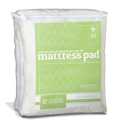 Bamboo Mattress Review Bamboo Mattress Pad Extra Plush