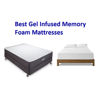 Top 10 Best Gel Infused Memory Foam Mattresses In 2018