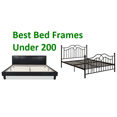 top 10 best bed frames under 200 in 2019 ultimate guide. Black Bedroom Furniture Sets. Home Design Ideas