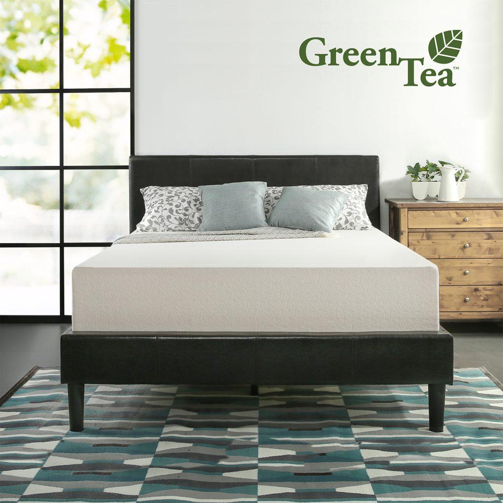 Zinus 12 Inch Green Tea Memory Foam Mattress