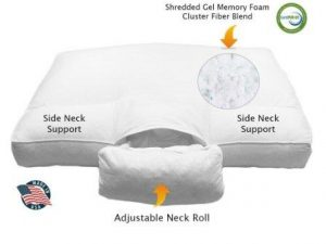 Customsleeping Best Cervical Orthopedic FULLY Adjustable Neck Support (ANS) Bed Sleeping Pillow