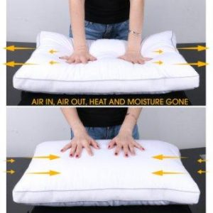 OXA Spring Bed Pillows for Neck and Back Pain – Relieving Sleeping Pillow