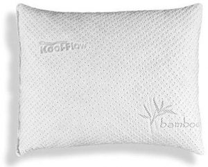 Xtreme Comforts Hypoallergenic Pillow – Adjustable Thickness Bamboo Shredded Memory Foam Pillow