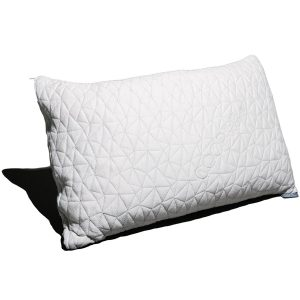 Coop Home Goods – PREMIUM Adjustable Loft – Shredded Hypoallergenic Certipur Memory Foam Pillow