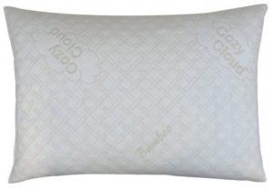 CozyCloud Deluxe Hypoallergenic Bamboo Shredded Memory Foam Queen Size – Softer Pillow