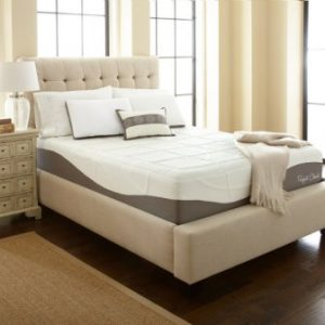 Perfect Cloud Elegance Gel-Pro 12-inch Memory Foam Mattress