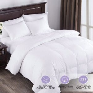 Puredown All Seasons White Down Comforter