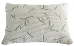 Sleep Whale – Premium Shredded Memory Foam Pillow derived from Bamboo – Luxury Design – Queen