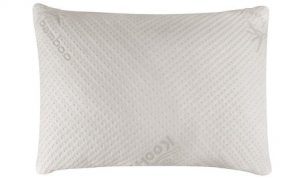 Snuggle-Pedic Ultra-Luxury Bamboo Shredded Memory Foam Pillow Combination With Adjustable Fit and Zipper Removable Kool-Flow Breathable Cooling Hypoallergenic Pillow Cover (Queen) (Top Pick)