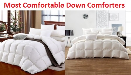 Top 10 Most Comfortable Down Comforters in 2017