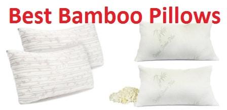 2 Pack King Zen Bamboo Ultra Plush Gel Pillow Premium Gel Fiber Pillow with