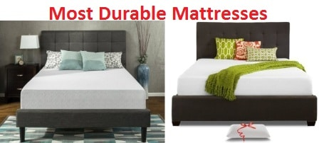 Top 15 Most Durable Mattresses in 2017