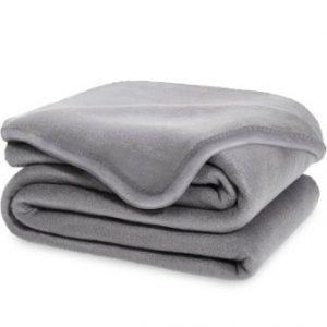 Equinox Polar Fleece Blanket 90 X Dove Grey Super