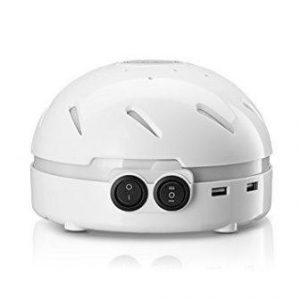 HemingWeigh White Noise Sound Machine – Quality Sounds Masks Disturbing Noise and Reducing Sound for Improved Sleep Relaxation and Enriched Concentration – Built in USB & LED Night Light