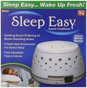 Sleep Easy Sound Conditioner and White Noise Machine