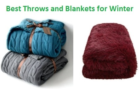 Top 15 Best Throws and Blankets for Winter in 2017