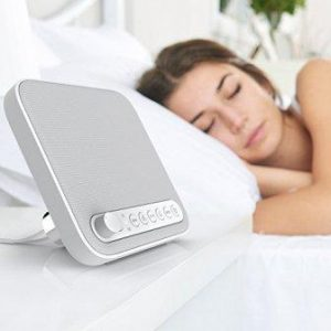 Wave Premium Sleep Therapy Sound Machine – Soothing All-Natural Sounds Including White Noise, Fan, Ocean, Rain, Stream, and Summer Night