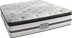 15 inch Hybrid Innerspring and Memory Foam Pillow Top King-Size Mattress