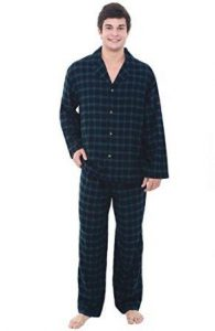 Alexander Del RossaMens Flannel Pajamas, Long Cotton Pj Set
